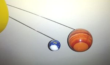 Solar system baby nursery ceiling mobile planet decorations