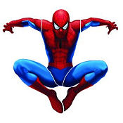 Spiderman baby nursery wall stickers and decals for a boy super hero room theme