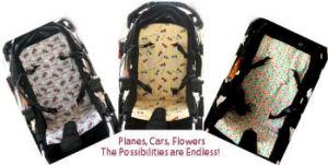 Free baby stroller liner patterns