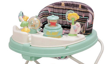 Winnie the Pooh baby walker and gear featuring Pooh Bear in the Honey Pot Tigger Piglet and Eeyore