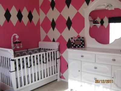 Abstract Extravaganza Baby Nursery Decor