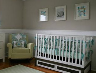 Diy Wainscoting Nursery Ideas Photos Of Nursery