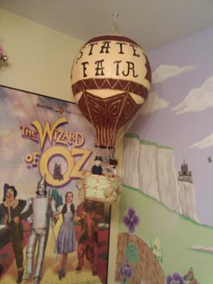 Vintage Style Wizard of Oz Baby Nursery Decorations