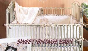 vintage toys baby crib bedding sets shabby chic