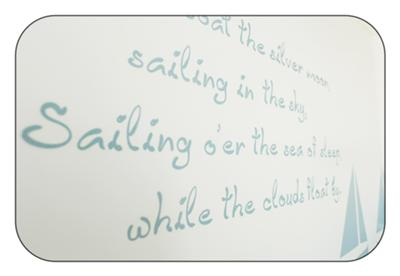 Will's Slumber Boat Nursery Wall Decorations