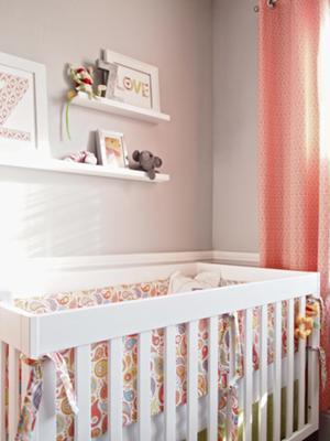 Our Baby Girl, Zoey's, Fun Modern Nursery Decor