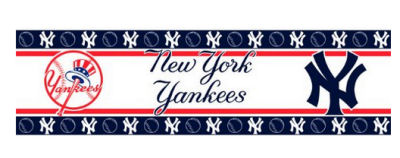 new york yankees emblem logo wallpaper wall paper border wallpapers