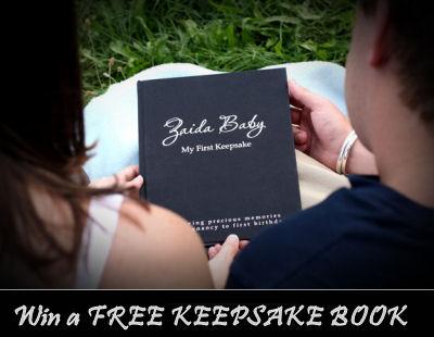 zaida baby my first keepsake book memory album