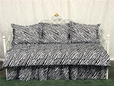 Zebra stripe bedding and comforters are very popular with teenage girls ...