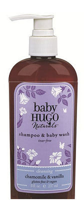 Eco-friendly natural baby bath and body products